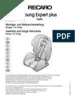 Recaro Young Expert Plus Car Seat