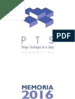 Memoria Fundación PTS 2016