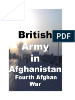 British Army in Afghanistan Fourth Afghan War Paperback June 28, 2017