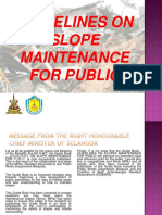 Guidelines on Slope Maintenance