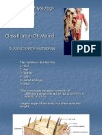Anatomy and Physiology of Skin and TYPE of WOUND--RAJ