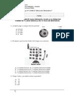 Ensayo Nº 3 SIMCE Matematica