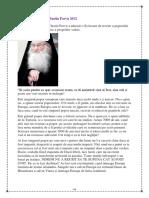Scrisoarea Parintelui Iustin Parvu 2012