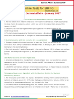 Telangana Current Affairs 2017 by AffairsCloud