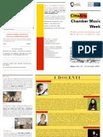 Brochure Ita - Città alta chamber music week