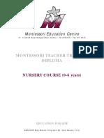 Montessori Manual
