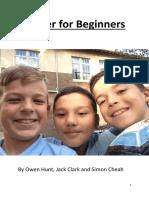 soccer for beginners