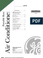 GE Portable Air Conditioner APE08