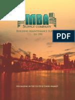 MBA Supply Catalog
