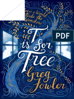 T is for Tree, Greg Fowler – Free Sample
