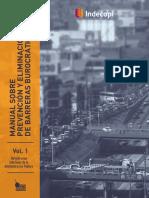 Manual de prevención y eliminación de barreras burocráticas por INDECOPI
