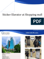 Report Sticker Shopping Mall 2017