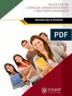 Manual de Introducción al Derecho por la Universidad San Martín de Porres.