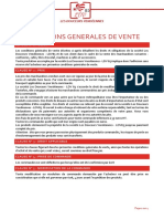Cgv 2017 Particuliers, CE, Associations