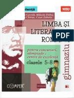 Limba Si Literatura Romana Clasele 5 8