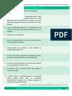Ten Generalizations From SLA Research Activity