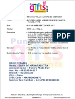 PuneGiftex 2017 Expo Form Manual