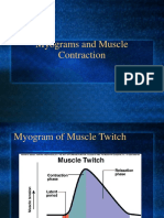 Myograms and Muscle Contraction