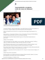 El Caribe » Danilo Promete Financiamiento a Mujeres Productoras de Aceite de Coco en Samaná