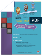 248593793 Proceso Construtivo de Cimentacion y Placas Modificado Part Jhimy Docx