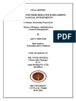 Final Report ( Arun Tripathi, MBA, 2015-17)
