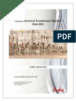 Global Electrical-Transformer Market Report