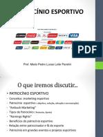2015 Aula Patrocínio Esportivo - Pedro