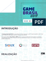 Pesquisa Mercado de Games