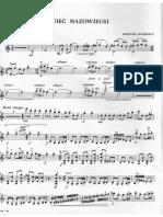 Bacewicz Tańce Violino Piano