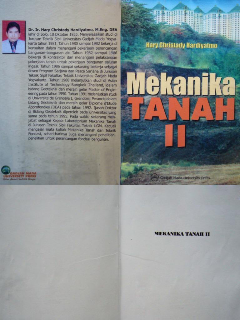 Buku Mekanika Tanah Pdf