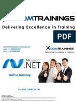 ASP.NET ONLINE TRAINING