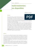 Lectura 2B -Bacterias Multirresistentes - Tratamiento Disponible