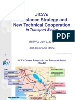JICA Current Project in Cambodia and New Strategies for TCP