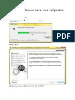 3. DAC Installation and Meta - Data Configuration