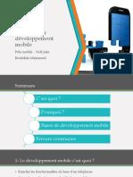 Les Bases Du Développement Mobile