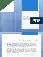 Etica Profesional Clase01