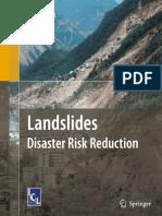 Kyoji Sassa Landslides – Disaster Risk Reduction (2009)