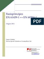Basisprincipes en 61439-1 en 60204-1