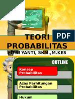 Minggu v-teori Probabilitas