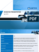 Amtek Investor Presentation April 2015
