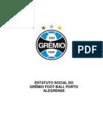 Estatuto Grêmio Football Porto-Alegrense