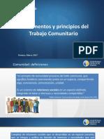 Clase 2. Fundamentos Del Trabajo Comunitario y Enfoque de Derechos.