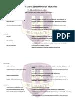 Chartes Du Centre de Formation