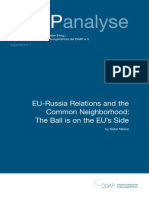 Eu-russia and the Common Neighborhood
