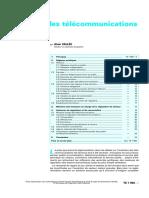 TE 7 060 Régulation Des Télécommunications