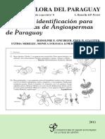 Claves de Identificación Para Angiospermas en Paraguay