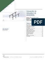 Analisis Estatico de Estructura Para Monorriel
