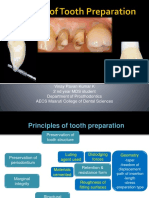 Biomechanical Tooth Preparation Principles for BDS final year students