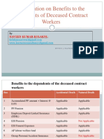 Contract Labour Benefits