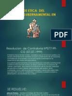 Codigo de Etica Del Auditor Gubernamental en El